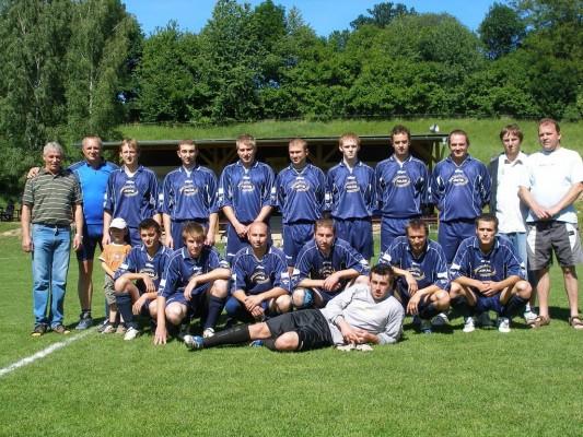 Fotbal- Muži 2009 - klikni pro větší velikost